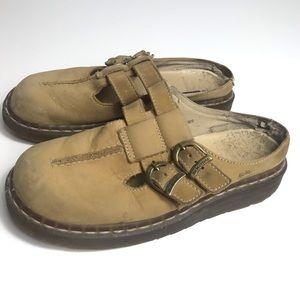 Dr. Martens air wair leather mule slides